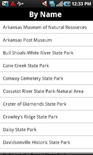 Arkansas State Parks - screenshot thumbnail