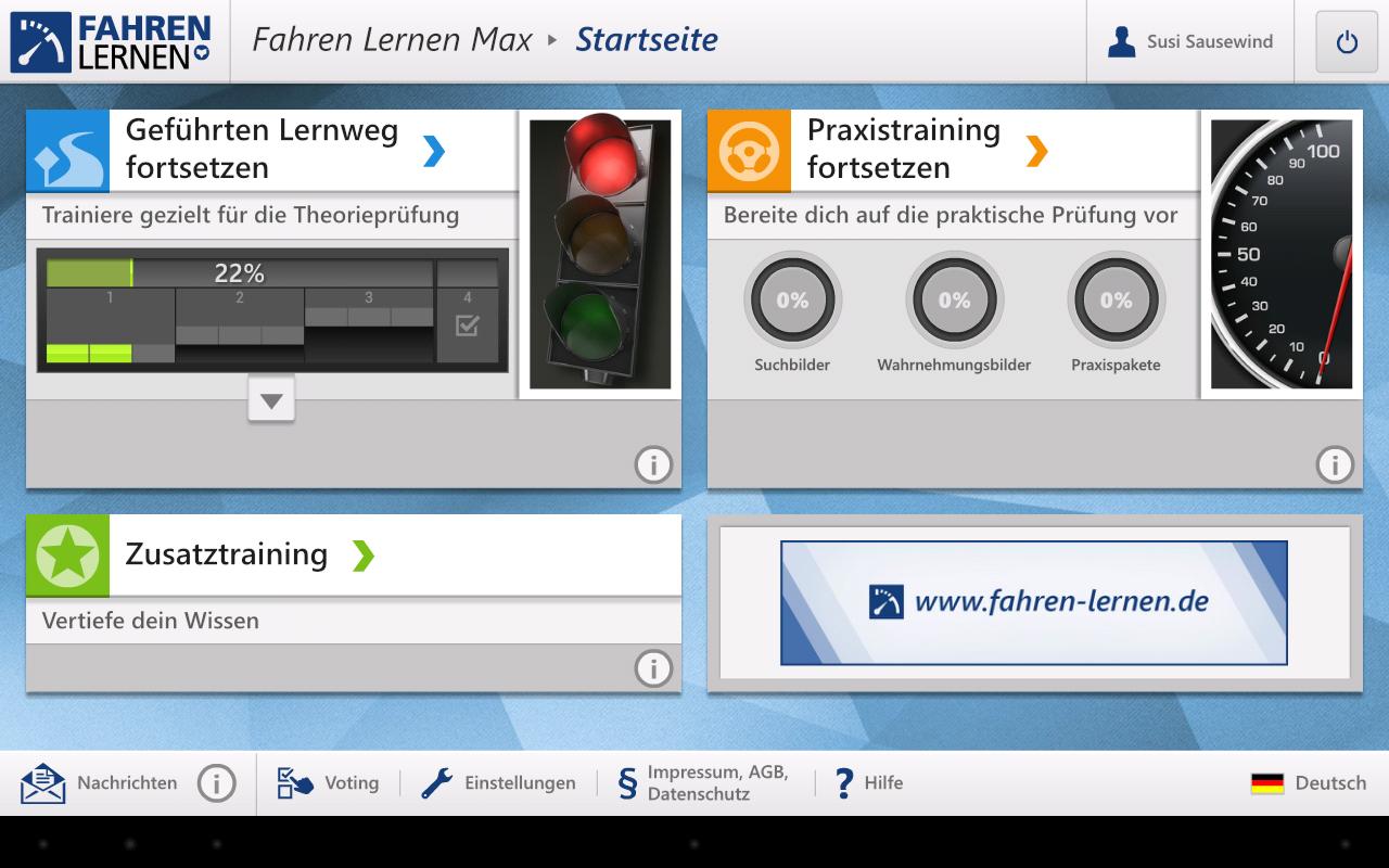 Fahren Lernen Simulation