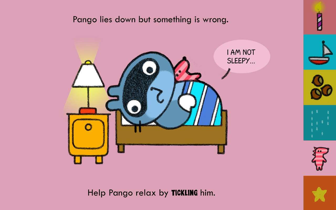Pango and friends- screenshot