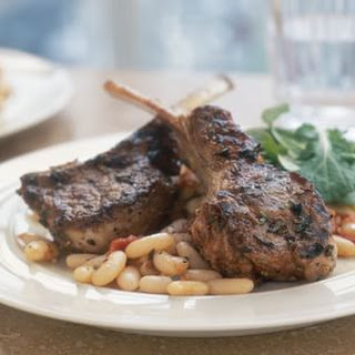 Grilled Marinated Lamb Chops.
