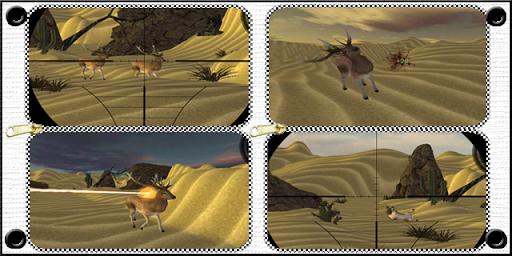 绿洲鹿射击游戏:3D狩猎