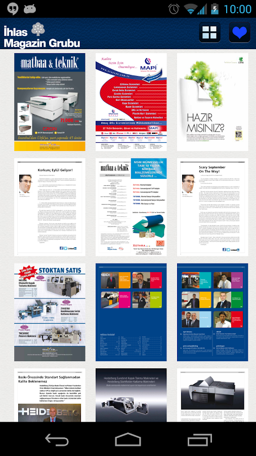 İhlas Magazin- screenshot