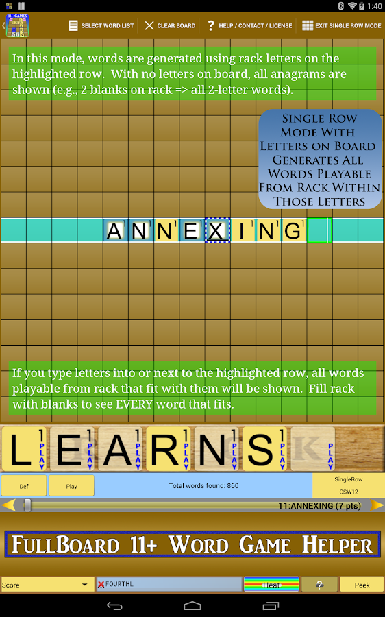 Words Solver 4 Friends + Ten - screenshot