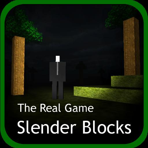 Slender Man Blocks LOGO-APP點子