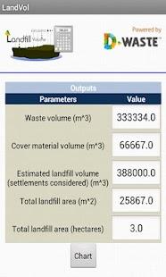 Landfill Area Calculator- screenshot thumbnail