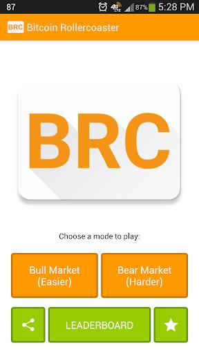 BRC Bitcoin Rollercoaster