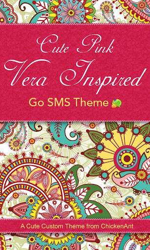 Cute Pink Vera Inspired SMS
