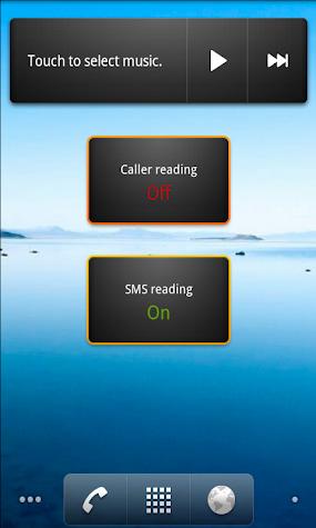 Call & SMS Reader Screenshot