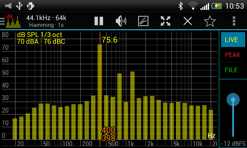Sound Spectrum Pro- screenshot