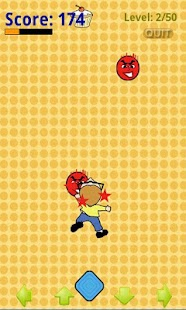 Dodgeball Terror Touch: Free- screenshot thumbnail