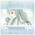 SWEETロック画面 *Crystal* icon