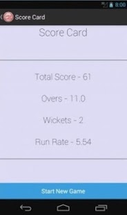 Cricket Scorer- screenshot thumbnail