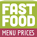 Fast Food Menu Prices Icon