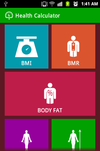 Health and Fitness Calculator