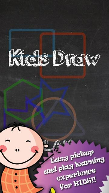 Kids Draw and Learn Shapes- screenshot