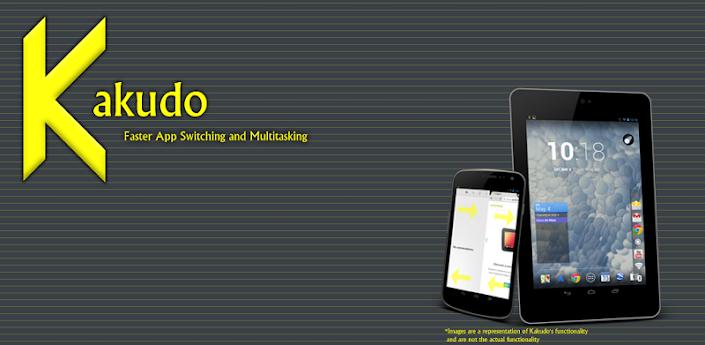Kakudo, una app que busca arreglar ese problema de diseño. Y lo hace con un sistema que, aunque no es muy complicado, hace muy bien lo que pretende. Una vez que iniciamos Kakudo, podemos pasar entre las apps que tenemos abiertas haciendo swipe hacia arriba o abajo en ambos bordes de la pantalla.         Este cambio parece rápido y preciso, aunque es de esperar que con un movimiento tan poco característico a veces al sistema le cueste saber qué queremos. En todo caso, una vez en funcionamiento, Kakudo hace exactamente lo que se