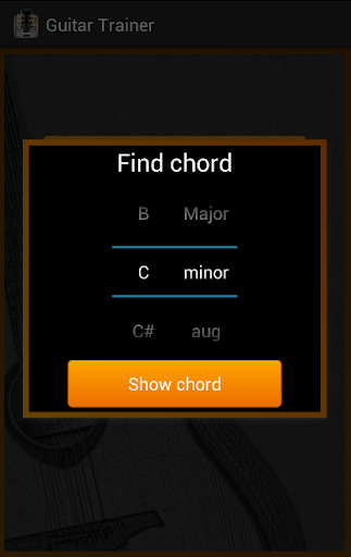 【免費音樂App】Guitar Chords Trainer-APP點子