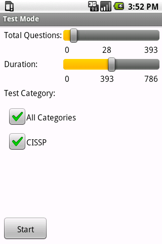 CISSP Exam Prep - screenshot
