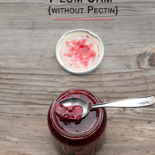 Plum Jam Recipe {without Pectin}.