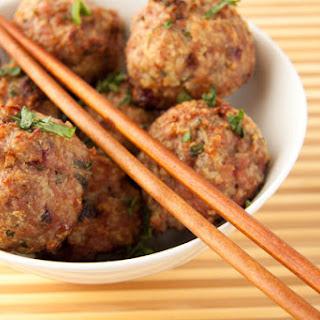 Cranberry Turkey Meatballs.