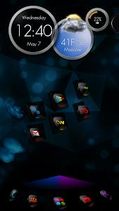 Next Launcher Theme CosMix 3D v1.1