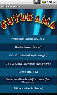 Futurama frases - screenshot thumbnail