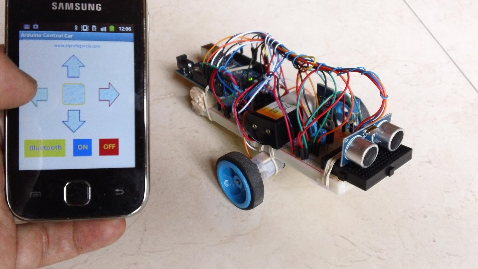 Arduino control car android apps on google play