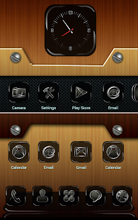 MetalCraft Next Launcher Theme