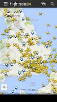 Screenshot of Flightradar24 Free