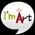 아이엠아트 미술 icon