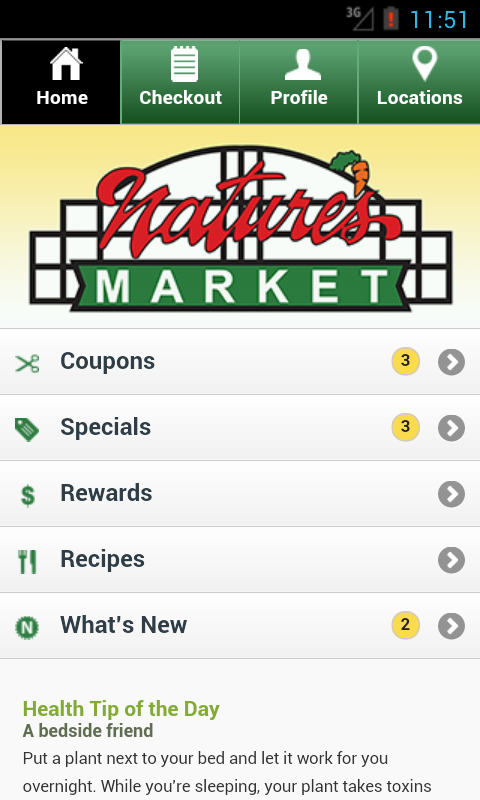 Nature's Market Kent- screenshot