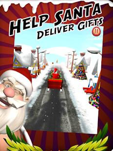 santa streaker christmas game apps on google play