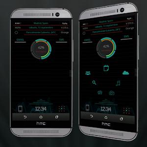 App Hologram Skin Zooper Widget APK for Windows Phone