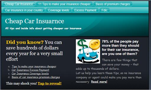 玩生活App|Cheap Car Insurance (Save $$$)免費|APP試玩