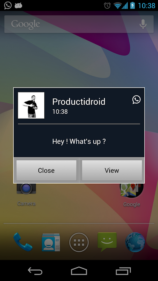 Popup Notifier - screenshot
