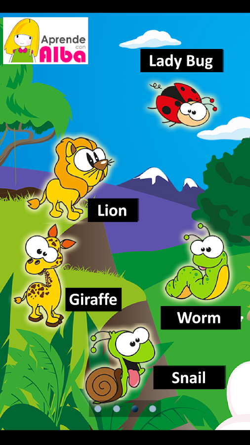 Learning Games: The Animals- screenshot