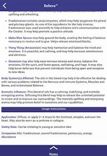 Ref. Guide for Essential Oils- screenshot thumbnail