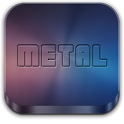 Metal (APEX/NOVA/GO/ADW THEME) icon