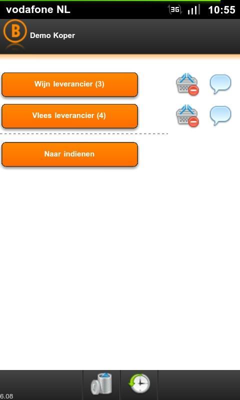 Bestelbox- screenshot