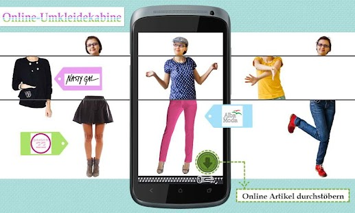 Mix Me – Virtuelle Garderobe – Miniaturansicht des Screenshots