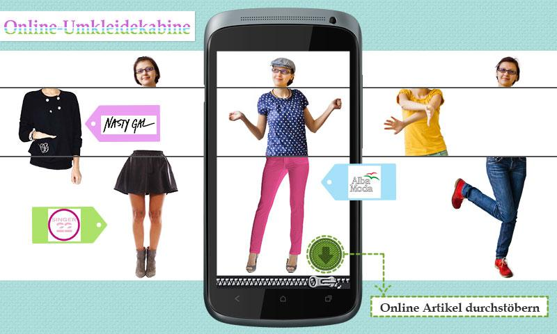 Mix Me – Virtuelle Garderobe – Screenshot