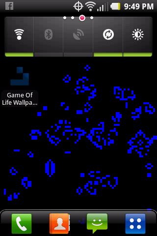 Game of Life Live Wallpaper - screenshot