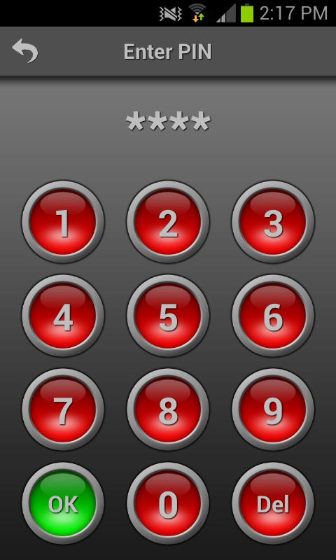 Mobile Alarm System Lite - screenshot