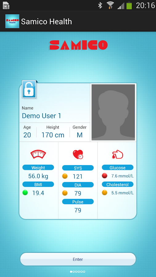 Samico Health- screenshot