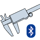 WEL Bluetooth Caliper icon