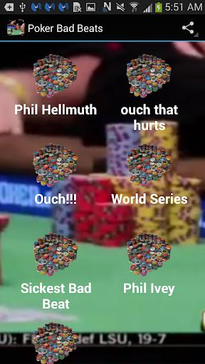 Poker Bad Beats
