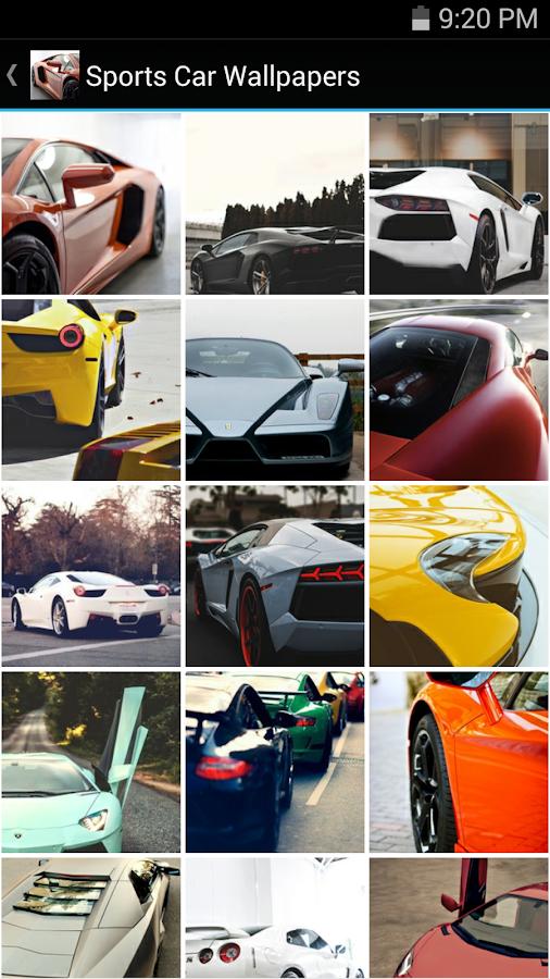 Sports Car Wallpapers Screenshot