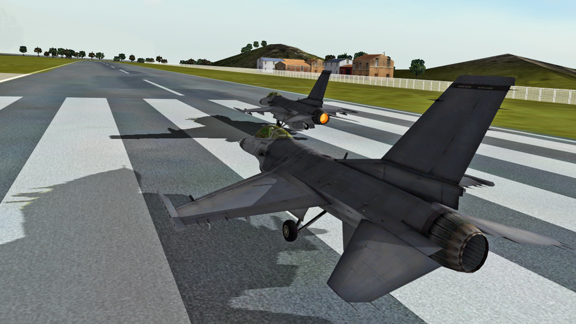 F18 Carrier Landing II - screenshot