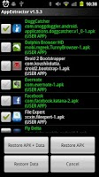 Screenshot of AppExtractor