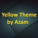 Yellow theme by Azam icon
